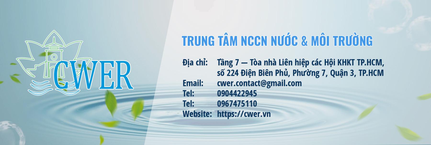 TRUNG TÂM NCCN NƯỚC & MÔI TRƯỜNG